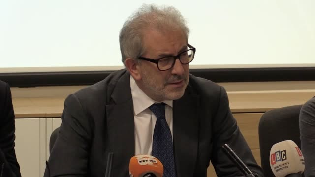 The mayor of Manchester Andy Burnham and Lord Bob Kerslake give an update on the review into last year's Manchester Arena bombing Burnham ordered the...