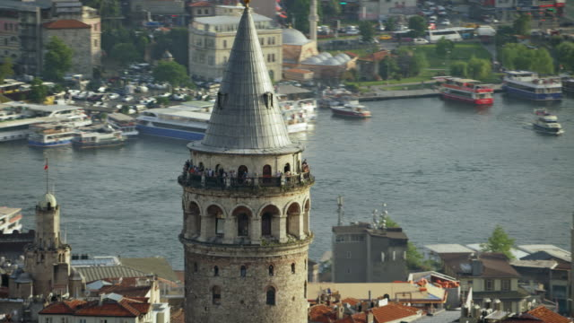 The Medieval Galata Tower In Istanbul