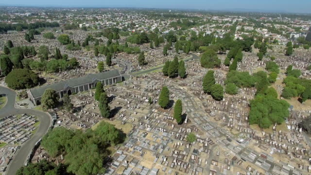 stockvideo's en b-roll-footage met the melbourne general cemetery, carlton north. - david ewing