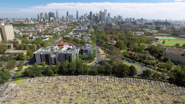 The Melbourne General Cemetery, Carlton North.