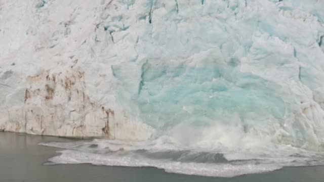 the melting of greenland's ice cap has gone so far that it is now irreversible with snowfall no longer able to compensate for the loss of ice even if... - end cap stock videos & royalty-free footage
