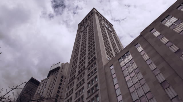 the metropolitan life building in manhattan - flatiron building manhattan stock videos and b-roll footage