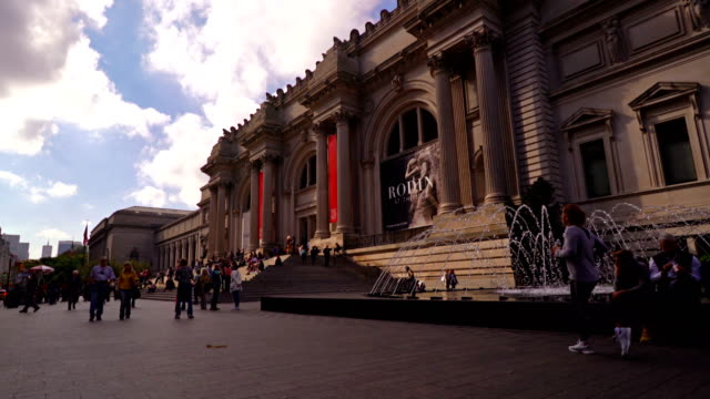 the metropolitan museum of art - museum stock videos & royalty-free footage