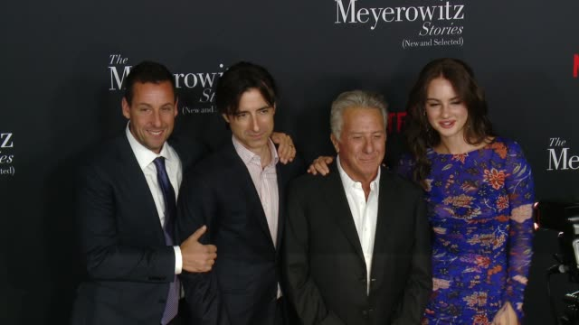 CHYRON 'The Meyerowitz Stories ' Los Angeles Special Screening at Directors Guild Of America on October 11 2017 in Los Angeles California