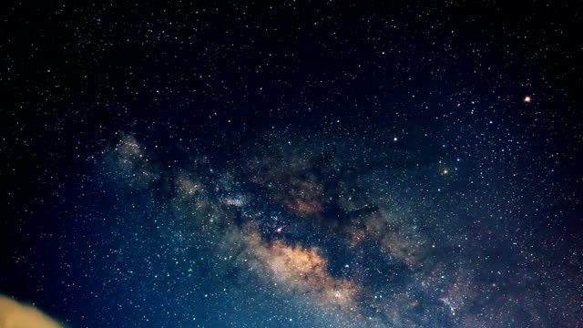 the milky way time lapse - full hd format stock videos & royalty-free footage