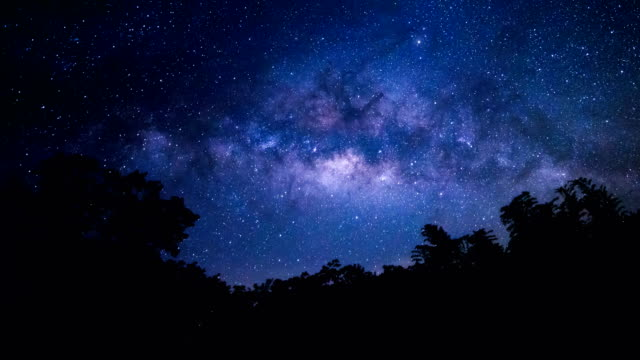the milky way - light trail stock videos & royalty-free footage