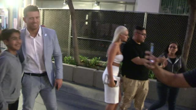 The Miz Maryse Ouellet at the ESPYS after party in LA Celebrity Sightings on July 15 2015 in Los Angeles California