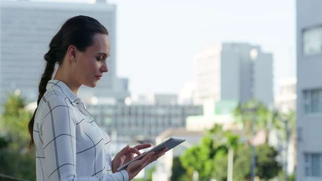 the modern entrepreneur is a connected entrepreneur - balcony stock videos & royalty-free footage