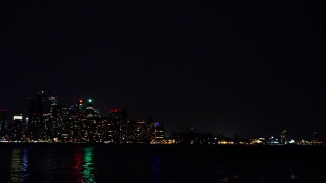 The Modern Toronto Skyline During the Night