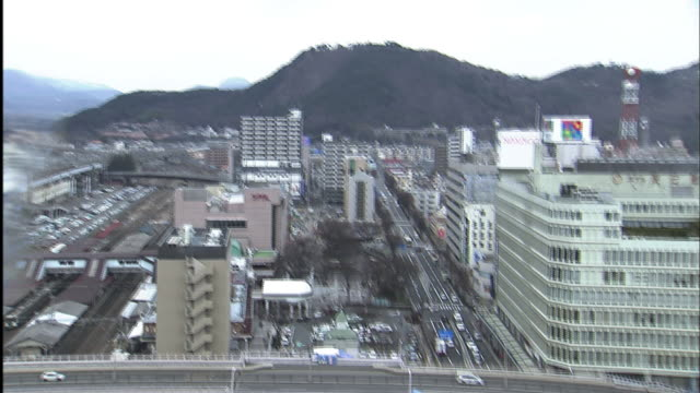 the moment of march 11 quake robbot camera fukushima city, fukushima pref. the 9.0 magnitude quake struck the north-east of japan on march 11,... - real time footage stock videos & royalty-free footage