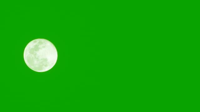 緑の背景に月。 - 占星術点の映像素材/bロール