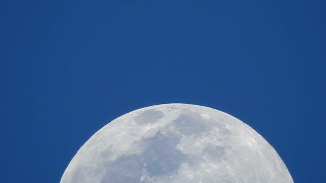 the moon - magnification stock videos and b-roll footage