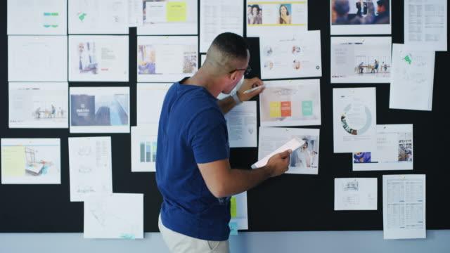 je mehr ideen sie haben, desto einfacher ist der erfolg - designberuf stock-videos und b-roll-filmmaterial