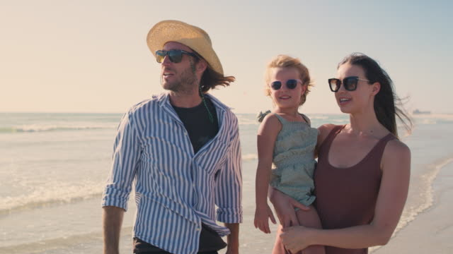 the more sun the more family fun - sunglasses stock videos & royalty-free footage