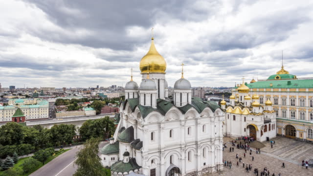 t/l ws ha zi the moscow kremlin / moscow, russia - moscow russia stock videos & royalty-free footage