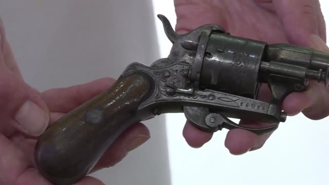 the most famous gun in french literature the revolver with which paul verlaine tried to kill his lover and fellow poet arthur rimbaud sold for... - poet stock videos & royalty-free footage