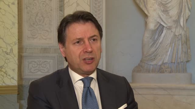stockvideo's en b-roll-footage met the most painful memory is surely the first deaths and the high number of victims until today says italian prime minister giuseppe conte whose... - number 9
