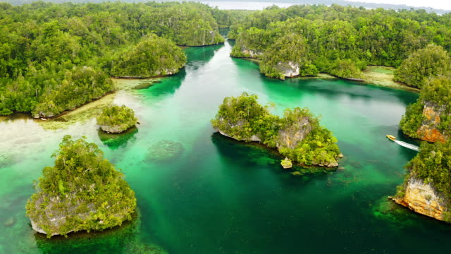 the most perfect place on earth? yes, this is it - indonesia islands stock videos & royalty-free footage