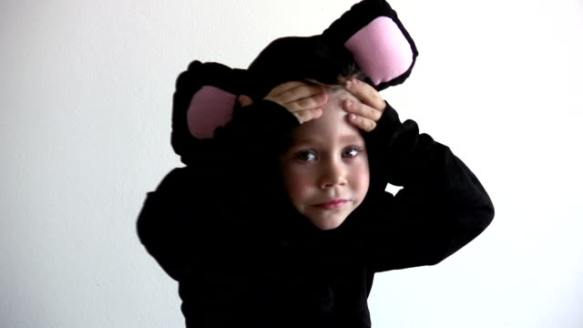 The mouse costume