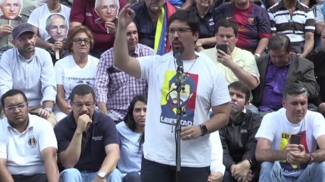 the mud venezuelan opposition coalition on saturday calls for intensified protests against the constituent assembly set to be elected on sunday with... - collegio elettorale video stock e b–roll
