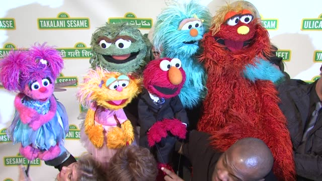 the muppets at 10th annual sesame workshop benefit gala at cipriani 42nd street on may 30 2012 in new york new york - gala stock videos and b-roll footage