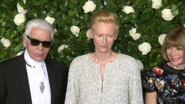 the museum of modern art 2013 film benefit - a tribute to tilda swinton at museum of modern art on november 05, 2013 in new york, new york - tribute event stock videos & royalty-free footage