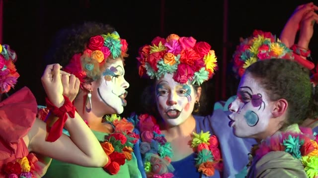 The musical theater group 'Cero Bola' uses humour in its songs and performance to fight for women's rights as it is one of the few allwomen groups of...