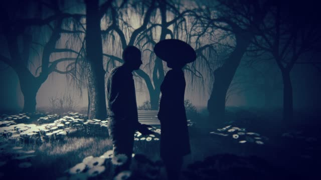 the mysterious lovers' tryst - mystery stock videos & royalty-free footage