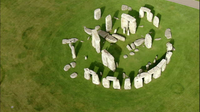 the mysterious rocks of stonehenge tower in salisbury plain, wiltshire, england. - obelisk stock videos & royalty-free footage
