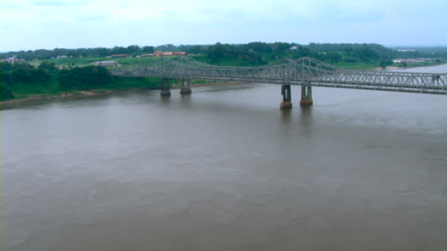 The Natchez-Vidalia Bridge spans the Mississippi River.