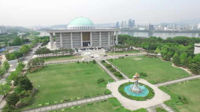 The National Assembly Building of the Republic of Korea in Yeouido