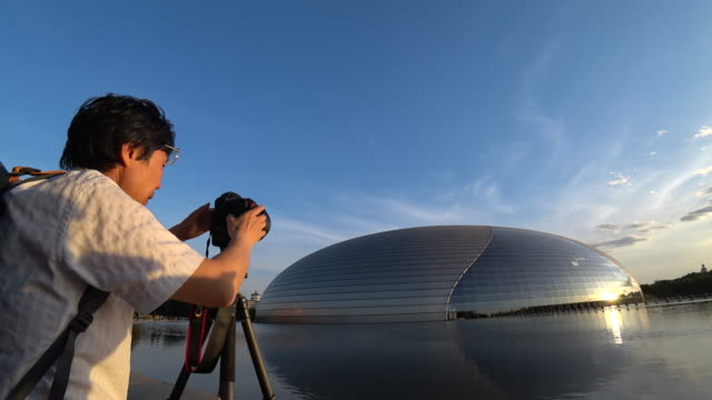 The National Centre for the Performing Arts located beside the Great Hall of People is the national theatre of China