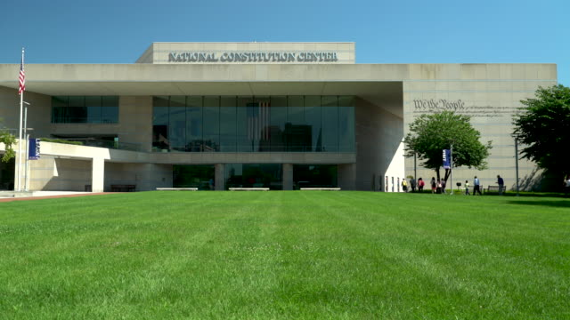 the national constitution center - philadelphia, pa - government building stock videos and b-roll footage