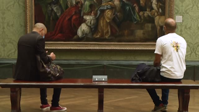 GBR: The National Gallery in London prepares to reopen with new social distancing measures