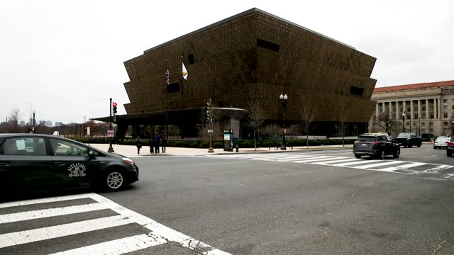 the national museum of african american history smithsonian museums closed due to the partial shutdown of the us government as it goes into the 12th... - smithsonian institution stock videos & royalty-free footage