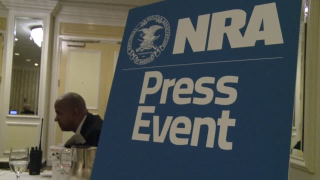 the national rifle association the most powerful us pro gun lobbying group demanded friday that armed police be deployed to every school in the... - national rifle association stock videos & royalty-free footage