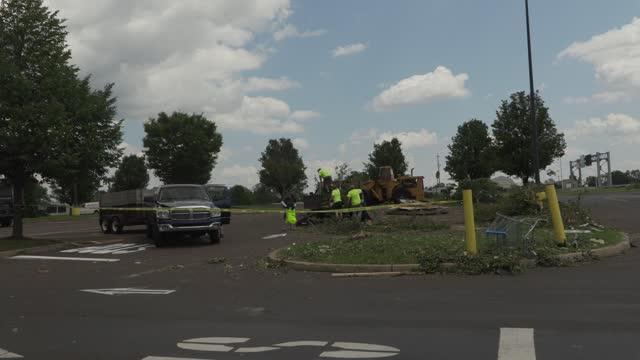PA: Tornado slams Walmart in Trevose, Pennsylvania