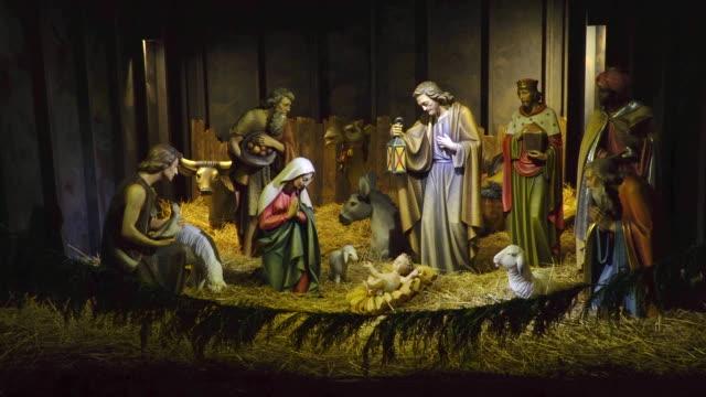 the nativity - jesus christ stock videos & royalty-free footage