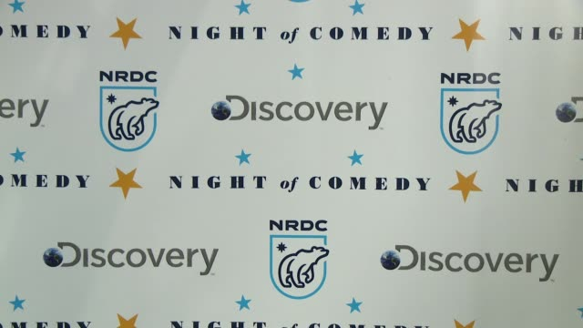 atmosphere the natural resources defense council presents night of comedy benefit hosted by seth meyers at new york historical society on april 30... - seth meyers stock videos and b-roll footage