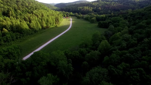 aerial: the nature of america - nashville stock videos and b-roll footage