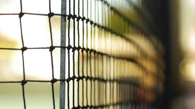 the netting details at a baseball game. - netting stock videos and b-roll footage