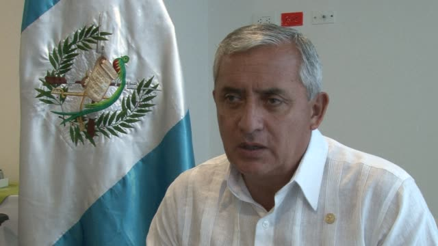 The new Guatemalan president Otto Perez Molina who recently caused controversy by calling for the legalization of illicit drugs as an alternative to...