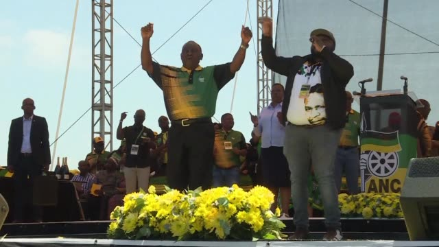 The new head of South Africa's ruling ANC Cyril Ramaphosa pledges to restore the credibility of the party after a spate of graft scandals involving...