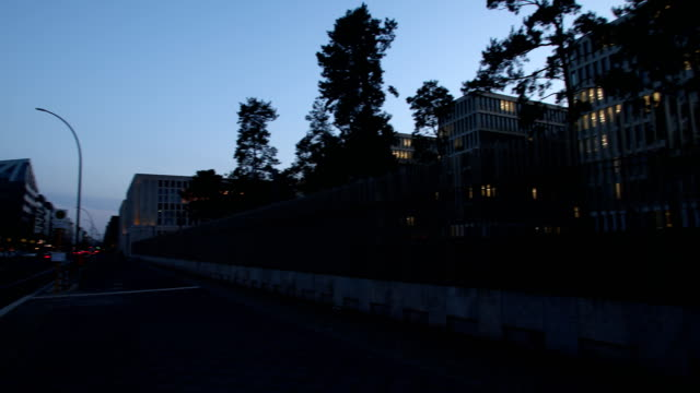 vidéos et rushes de the new headquarter of the german federal intelligence service in the chausseestraße in berlin germany on february 04 2019 in berlin germany next to... - aménagement de l'espace