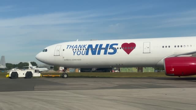 GBR: PPE Flight From China Delivers 120,000 Surgical Gowns To The UK