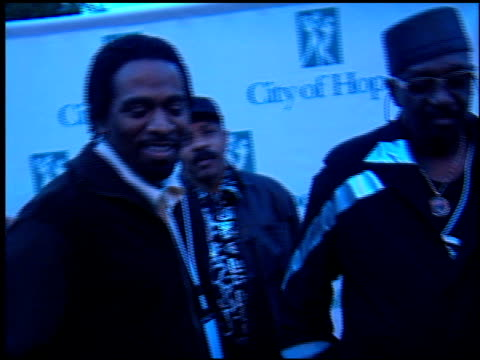 the 'new' temptations at the spirit of life gala at courthouse square at universal studios in universal city, california on october 11, 2001. - spirit of life awards stock videos & royalty-free footage