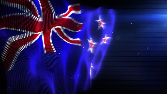The New Zealand Flag - Background Loop (Full HD)