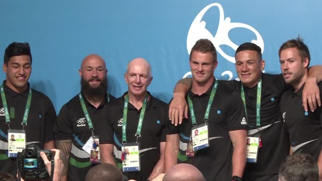 the new zealand rugby team is aiming for a gold medal at rio as the sport makes its olympic debut - medal stock videos & royalty-free footage