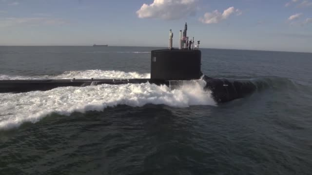 The newest Virginiaclass submarine Minnesota returned to Newport News Shipbuilding on Monday May 6 after successfully completing alpha sea trials the...