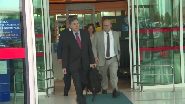 "the newly appointed u.s. ambassador to turkey, david satterfield, arrived in ankara on wednesday. ""we're pleased to announce that u.s.... - maryland us state stock videos & royalty-free footage"